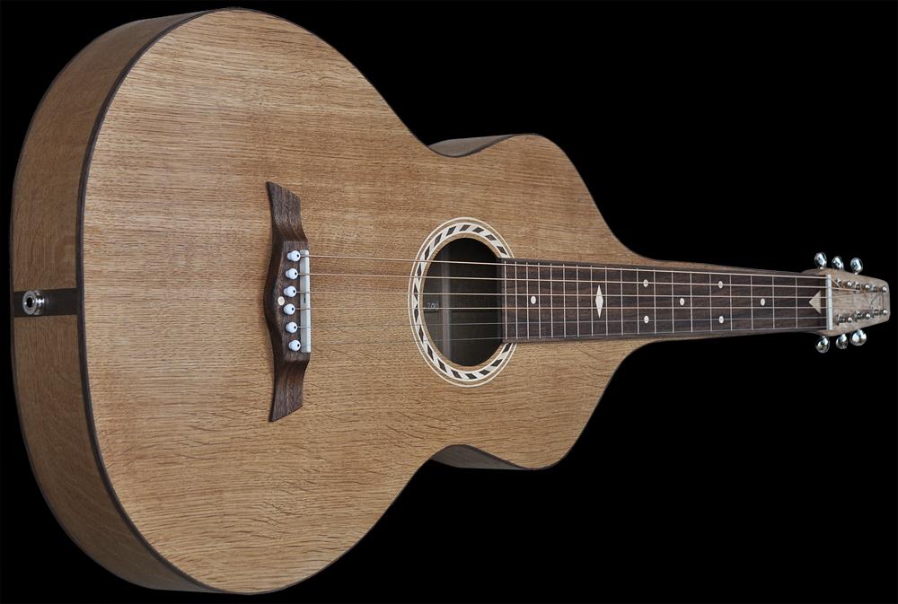 #102 weissenborn Dutch oakwood,angled frontside