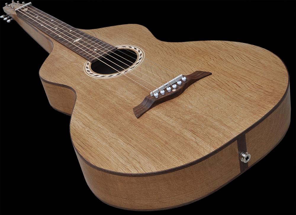 #102 weissenborn Dutch oakwood,front side angled