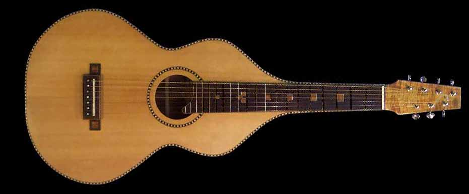 #16 weissenborn 7-string koa