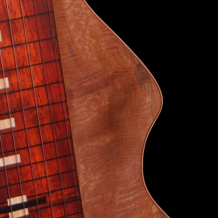 #20 lap steel 13-string detail