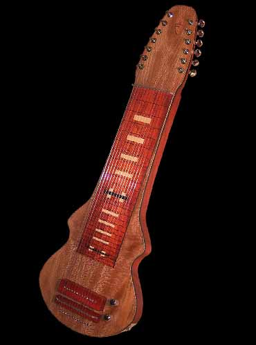 specifications of #20 lap steel 13-string