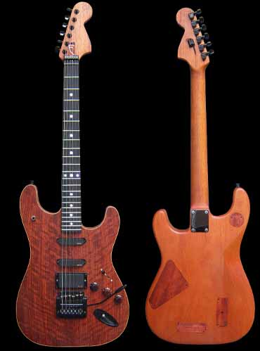 specifications of #36 stratocaster with emg and led
