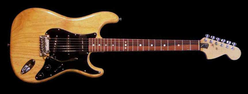 specifications of #39 stratocaster with p90