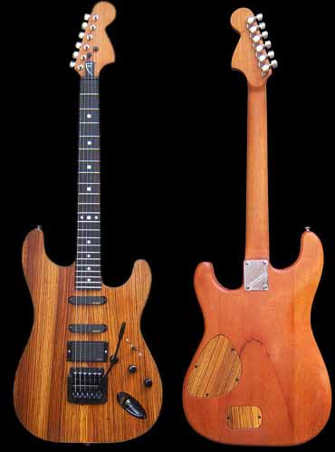 specifications of #41 stratocaster with emg and kahler