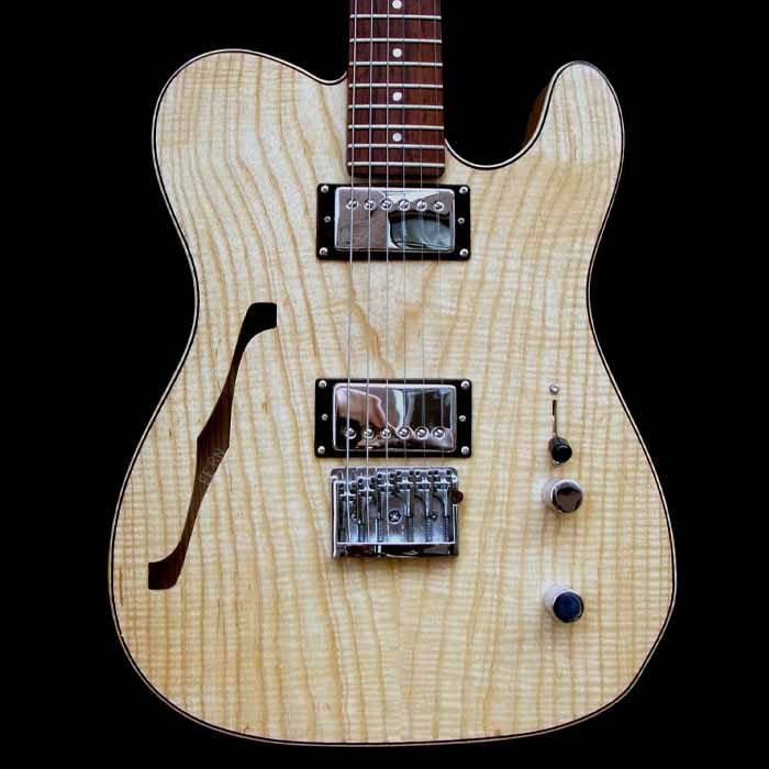#43 telecaster thinline body front
