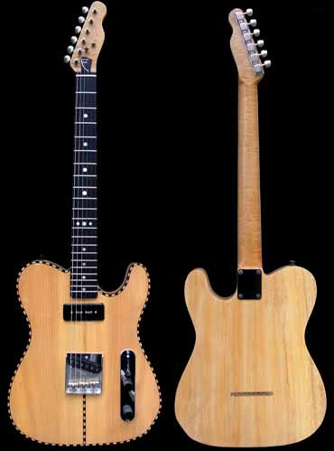 specifications of #46 vintage telecaster