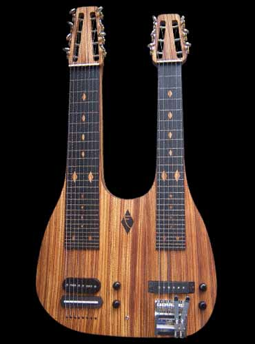 specifications of #50 double neck lap steel