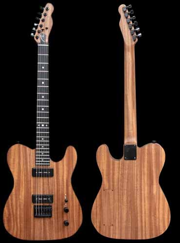 specifications of #54 classic junior electric guitar