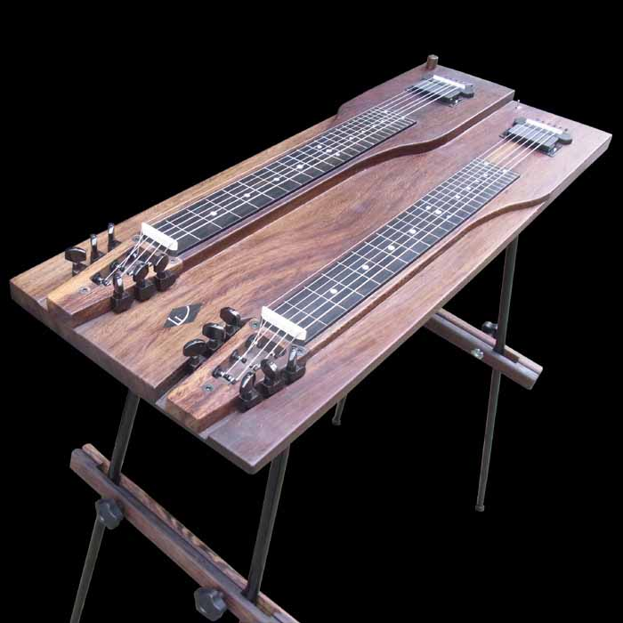 #55 console lap steel angled