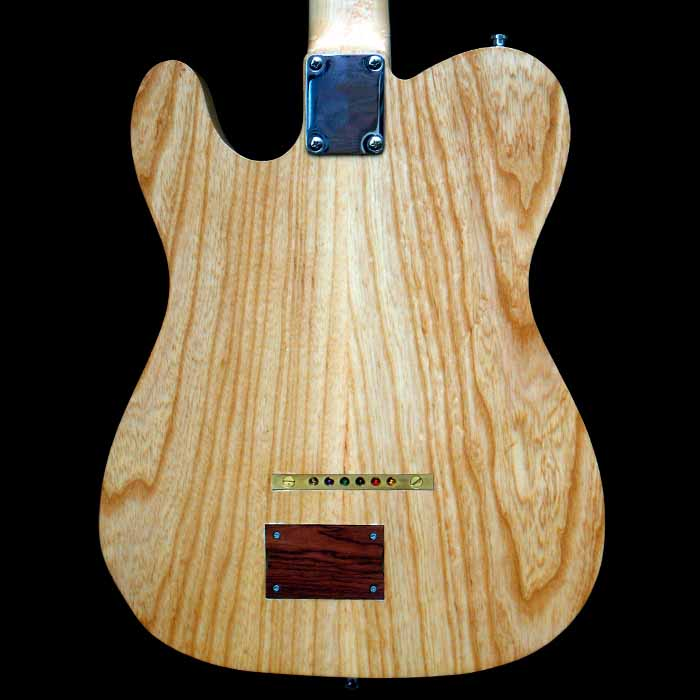 #57 telecaster with emg body back