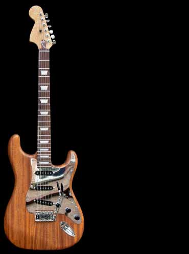 specifications of #68 stratocaster with mahogany body
