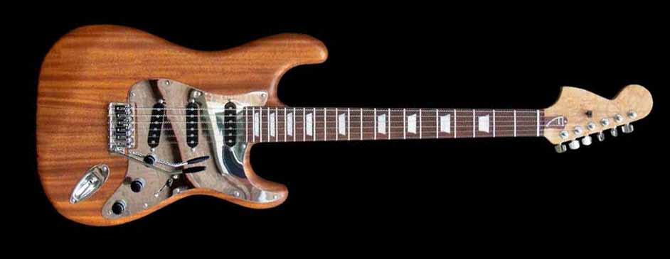 #68 stratocaster with mahogany body