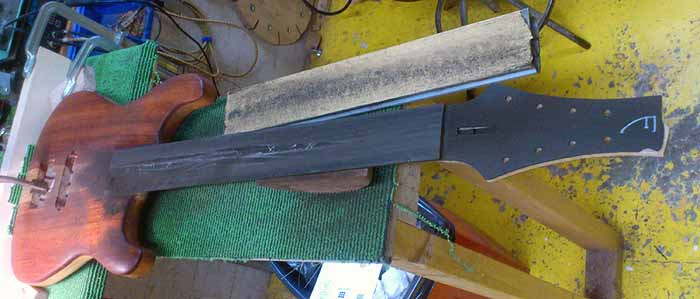 fretboard leveling
