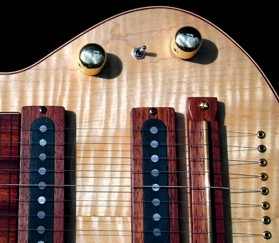 #79 lap steel 13-string lollar stringmaster pickup
