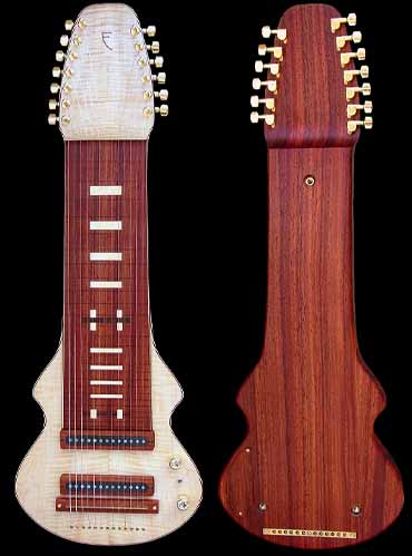 specifications of #79 lap steel 13-string