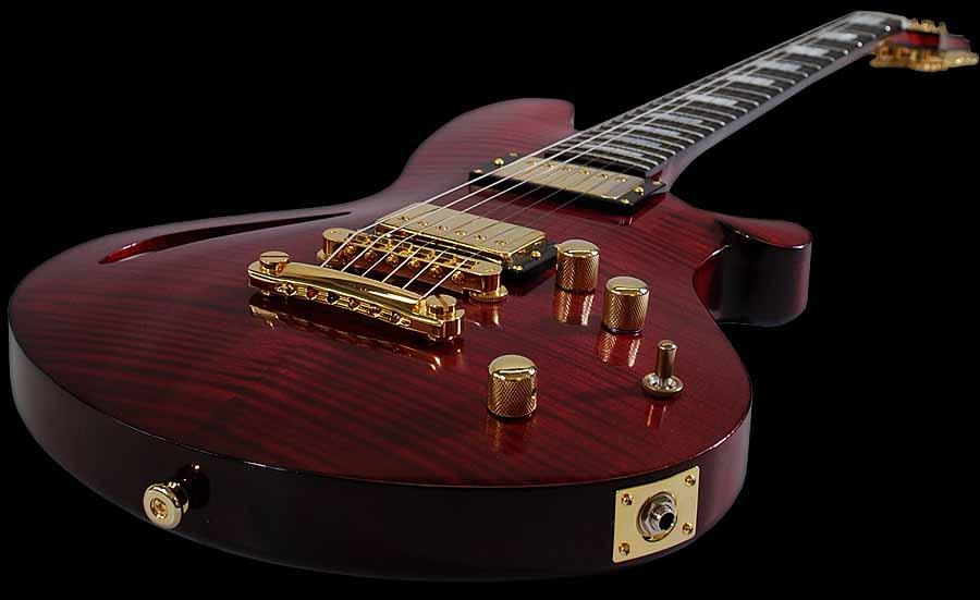 Orville Breeveld Custom signature electric guitar detail 5