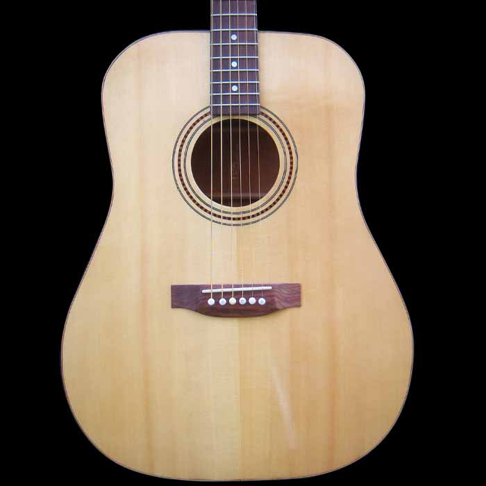D-style acoustic guitar body