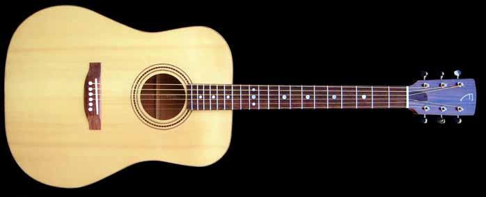D-style acoustic guitar