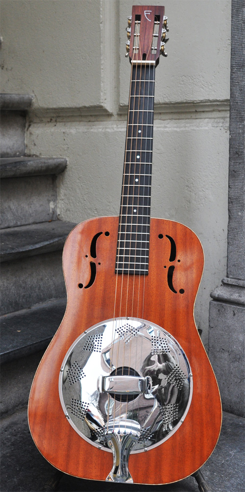 83: National Style Resonator guitar overview