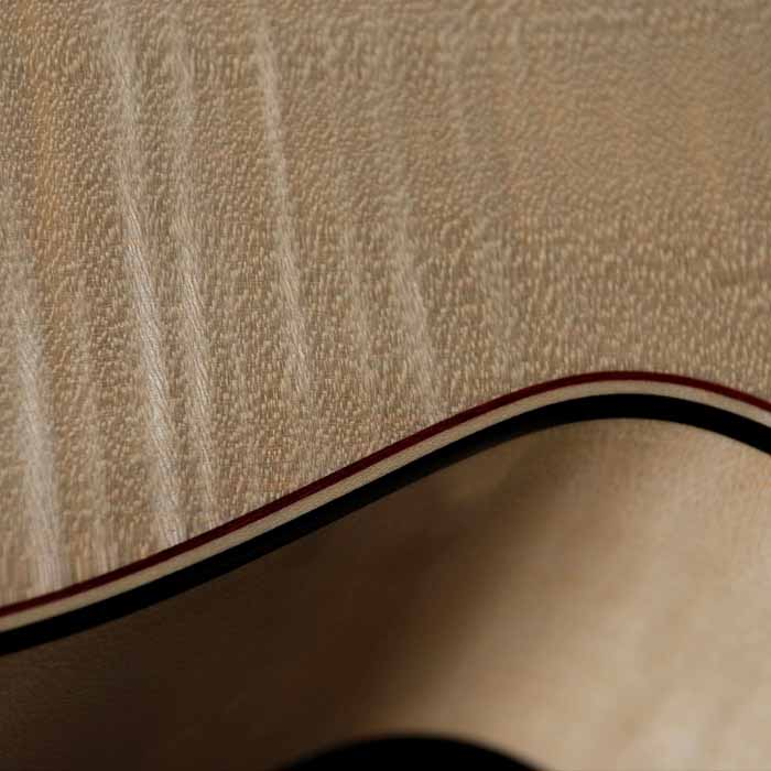J-style acoustic guitar binding