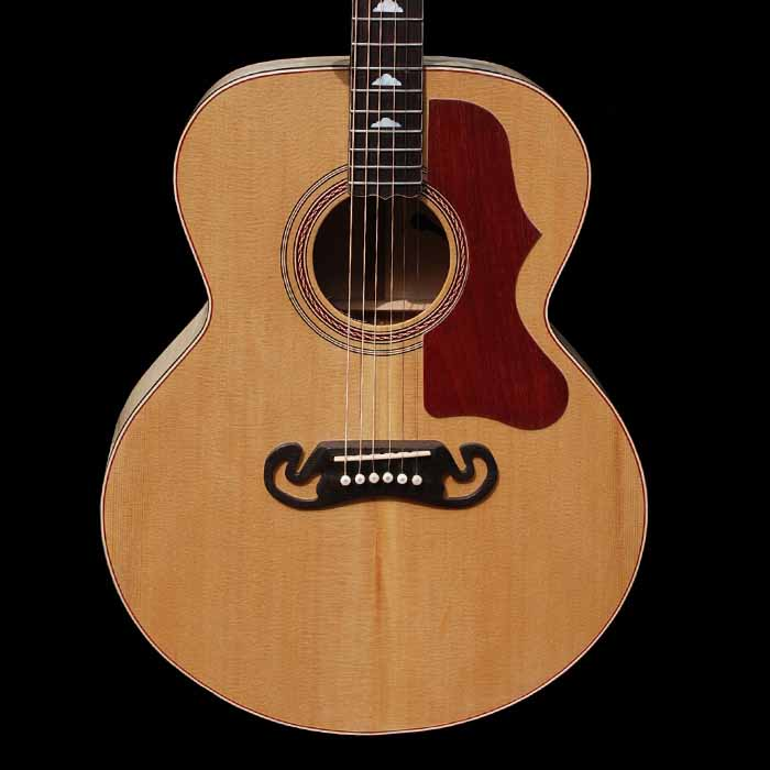 J-style acoustic guitar body