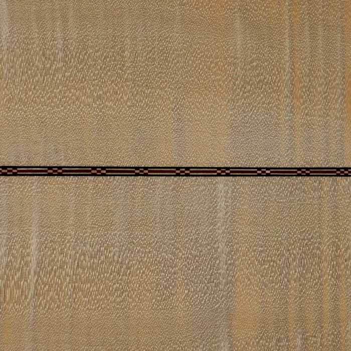 J-style acoustic guitar central strip