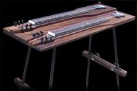 #55 console lap steel, wenge