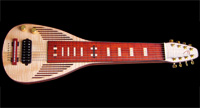 #60 8-string Deco Slide lap steel guitar, lefthanded