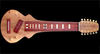 #86 12-string lap steel guitar