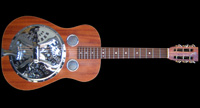 NVS Resonator style acoustic slide guitar