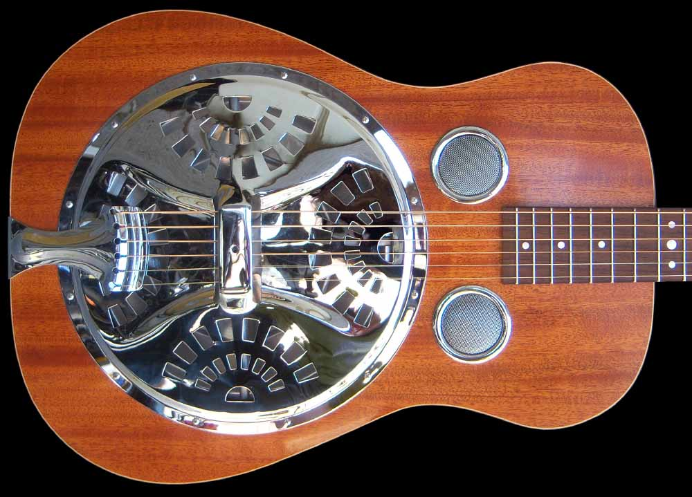NVS Resonator guitar body