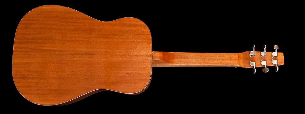 WRS Resonator guitar back