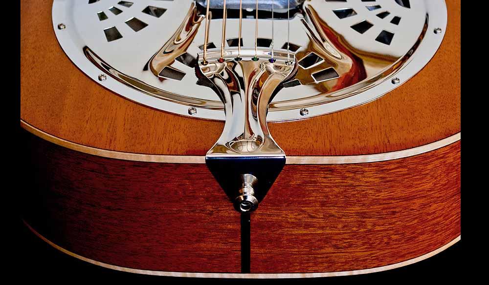 WRS Resonator guitar tailpiece