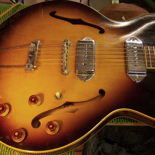 the epiphone electronics are ready