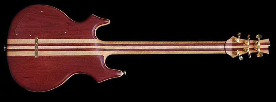 #17 flair elektrische gitaar achterkant