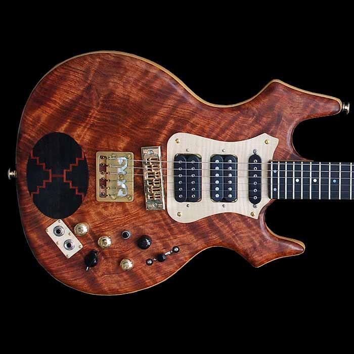 #17 flair elektrische gitaar body