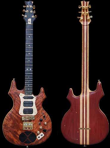 specificaties van #17 flair elektrische gitaar
