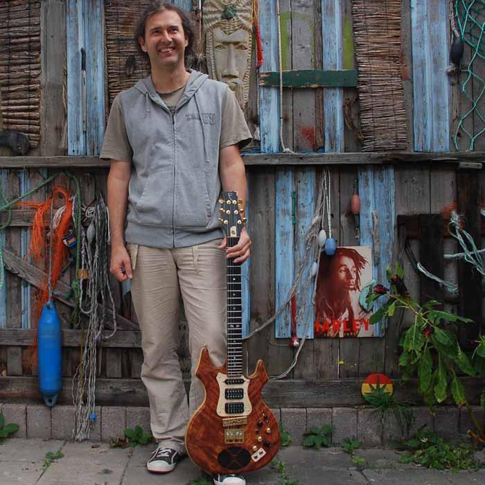 Wim Voeten en #17 flair elektrische gitaar