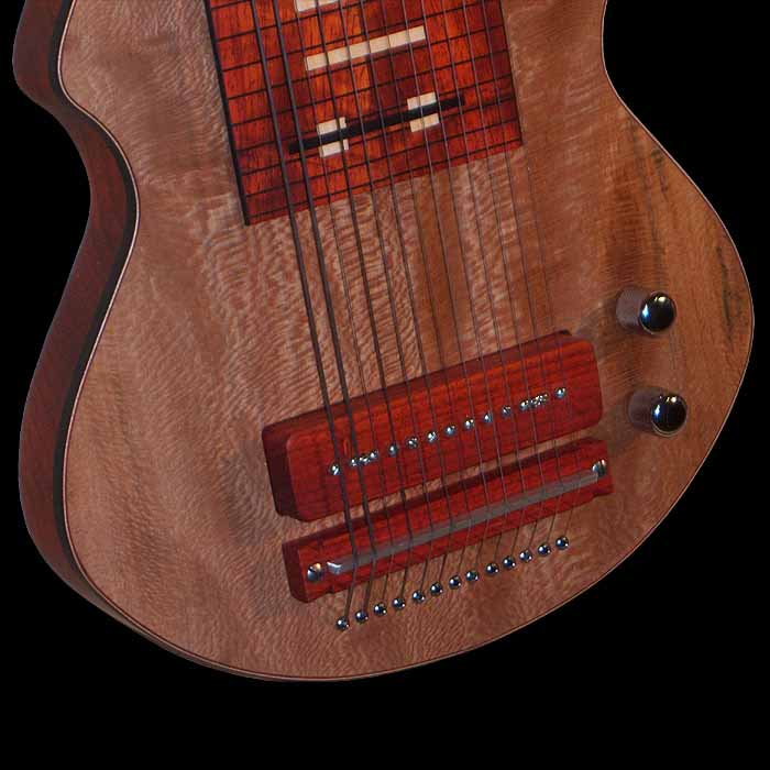 #20 lapsteel 13-snarig lollar chicago pickup