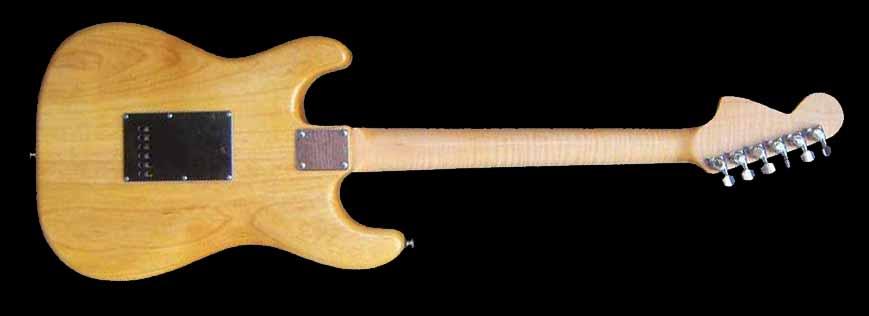 #39 stratocaster met p90 achterkant