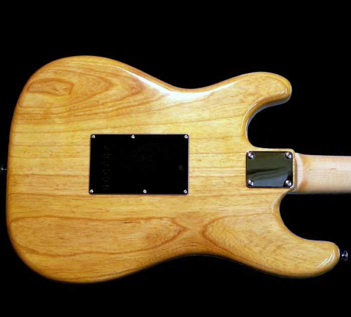 #39 stratocaster met p90 body achterkant