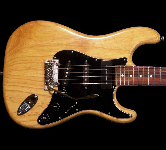#39 stratocaster met p90 body