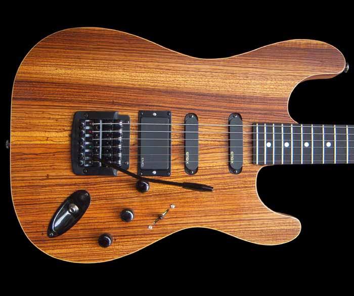 #41 stratocaster met emg en kahler body