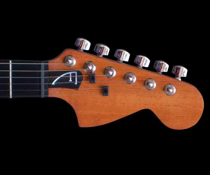 #41 stratocaster met emg en kahler kop