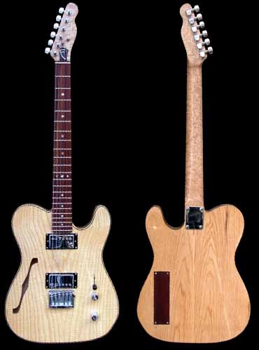 specificaties van #43 telecaster thinline