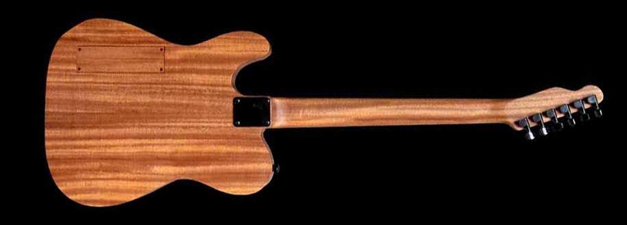 #54 classic junior elektrische gitaar achterkant