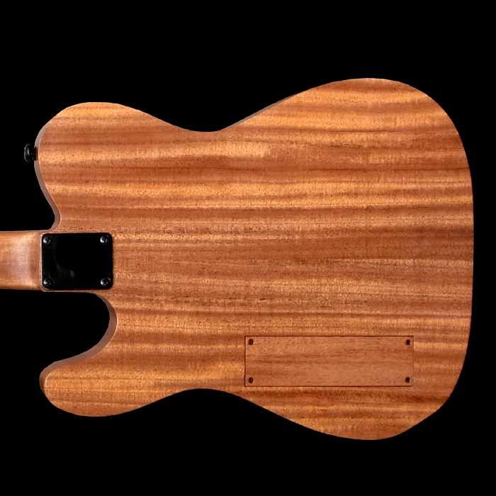 #54 classic junior elektrische gitaar body achterkant
