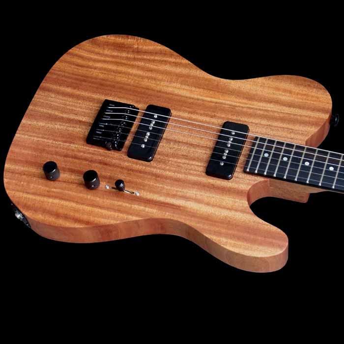 #54 classic junior elektrische gitaar body schuin