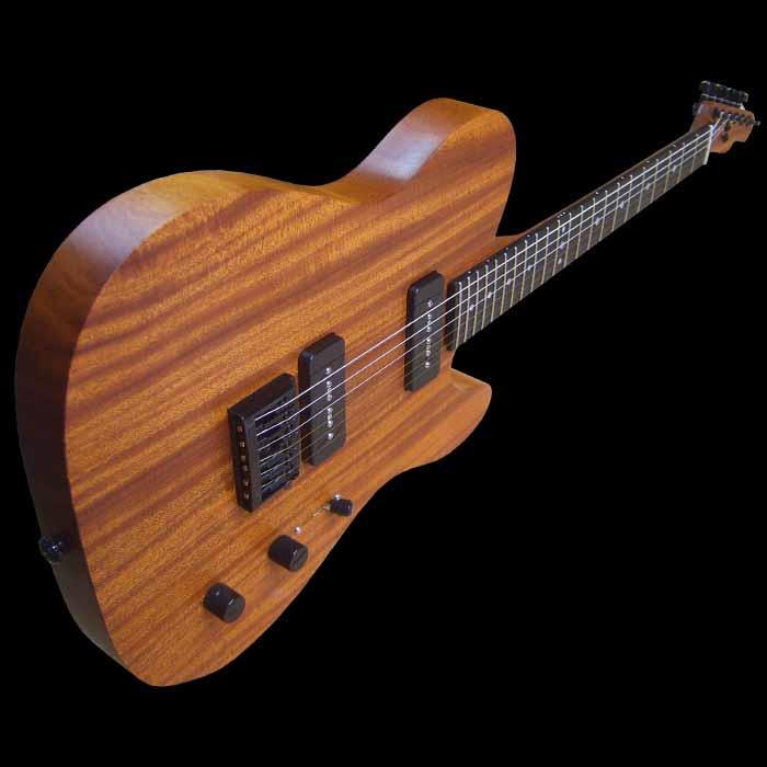 #54 classic junior elektrische gitaar schuin