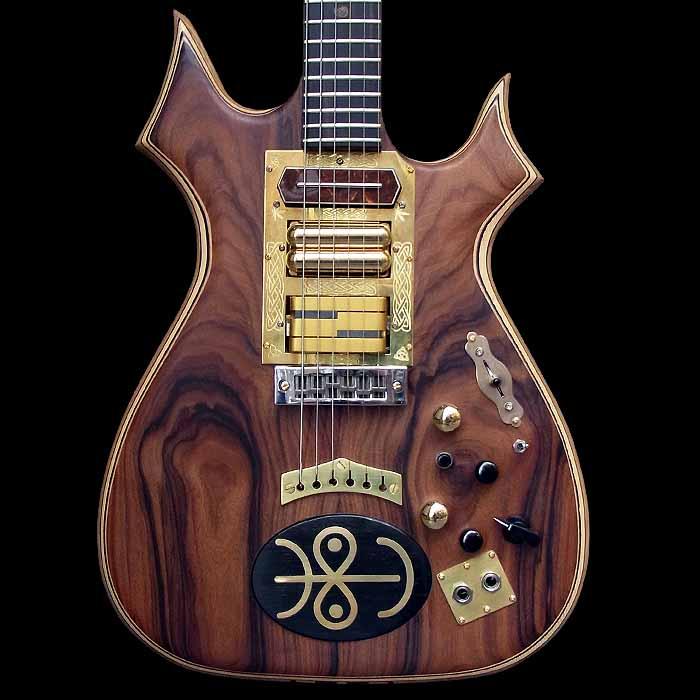 #64 psiliste elektrische gitaar body